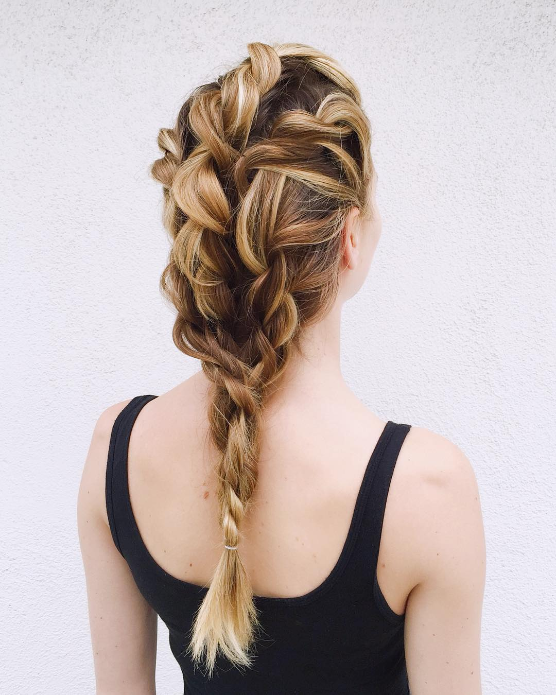 Triple Twist Ponytail