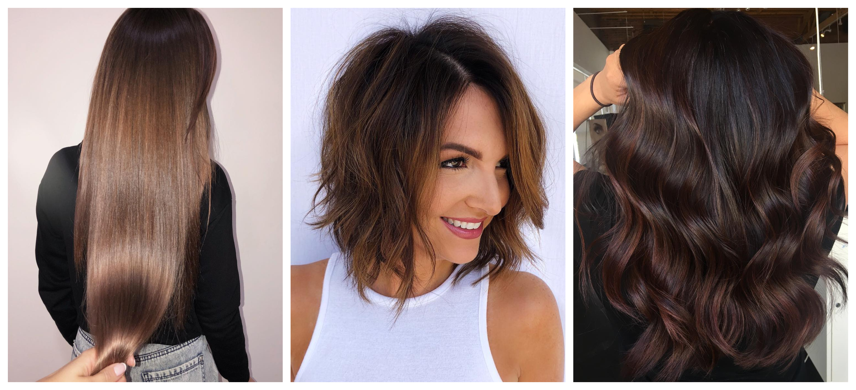 Chocolate Brown Hair Color Trend