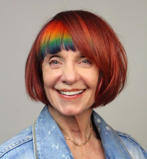 Cute Bob For Women Turning 60