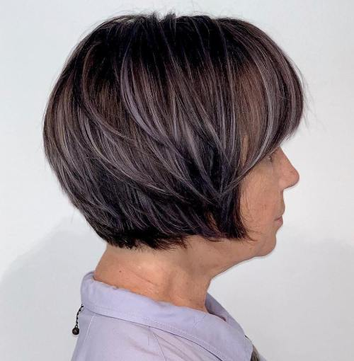 Short Bob For Women With Thick Hair