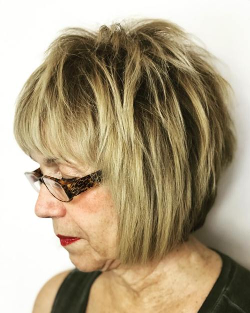 Short Bob For Women Over 60