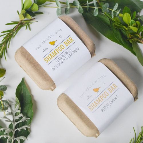 The Yellow Bird Solid Bar Shampoo Soap