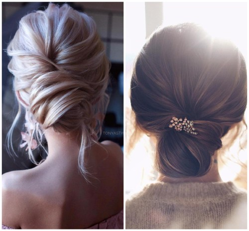 Undone Chignon Hairstyles