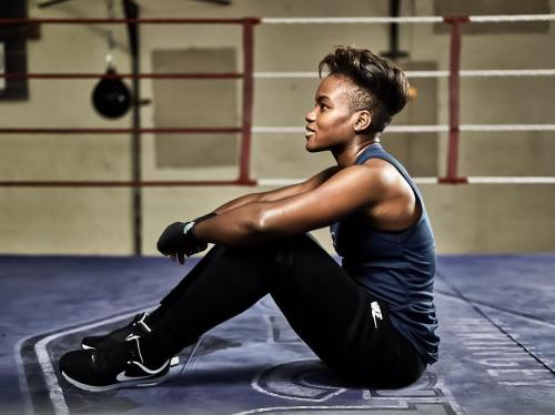 Nicola Adams Half Shaved Do