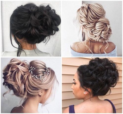 Voluminous Structured Hairstyles