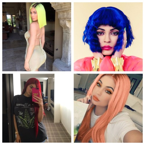 Kylie Jenner Wigs 2