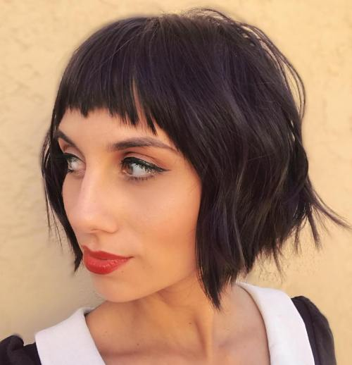 Short Bangs As A Must Have For 2020