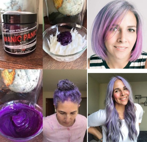 Manic Panic Purple Coloring