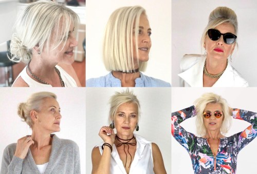Blonde Bob Types Of Styling