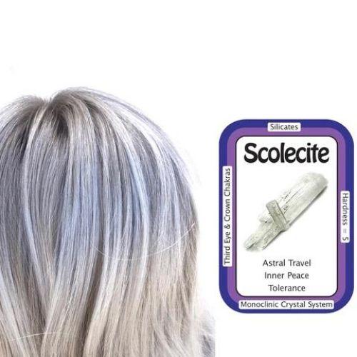 Scolecite Hair