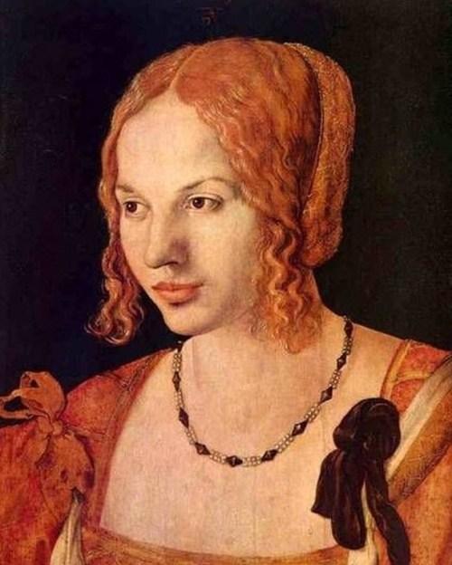 Portrait Of A Venetian Albrecht Dürer