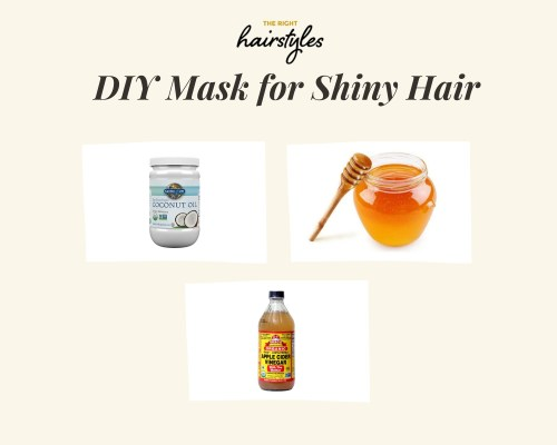 Coconut Oil Mask For Shiny Hair