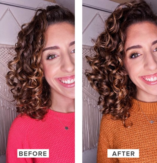 Before After Rise Water Rinse