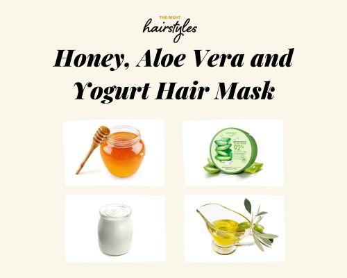 Honey Aloe Vera And Yogurt Mask
