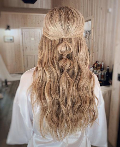 Bubble Braid For Long Blonde Hair