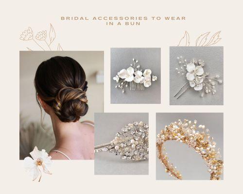 Bridal Hair Accessories Moodboard