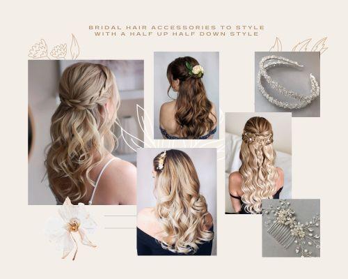 Bridal Half Up Half Down Hair Inspiration