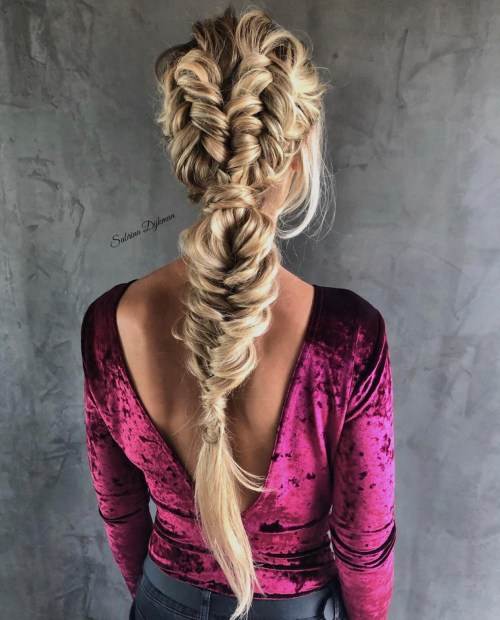 Double Boho Dutch Fishtails