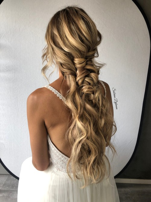 Bohemian Braid-Like Look