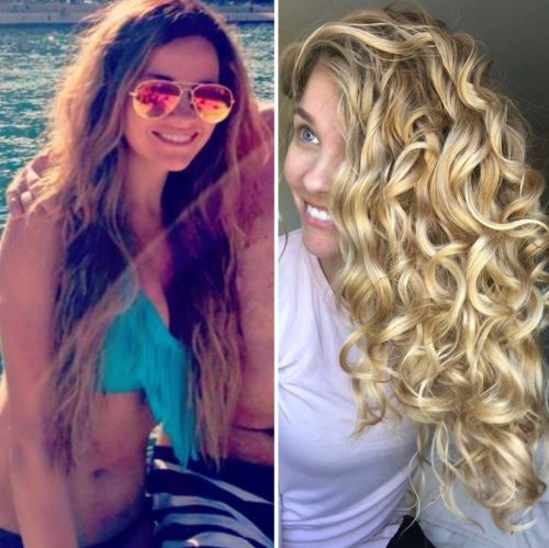 Frizzy Hair Before and After