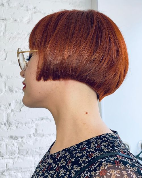 Short Bob with Layers and Sharp Edges