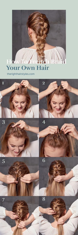 French Braid Step by Step Tutorial