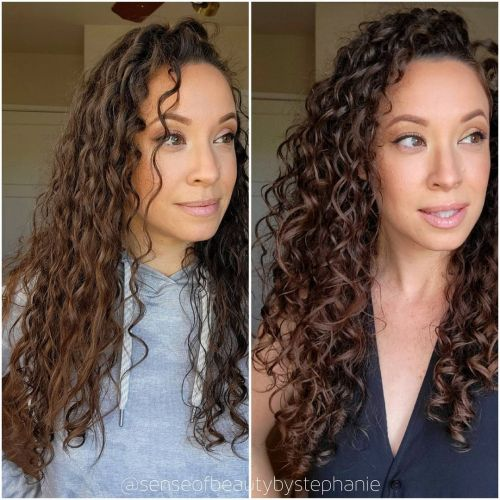 Hair Blogger Showing What Drying Technique Causes More Frizz