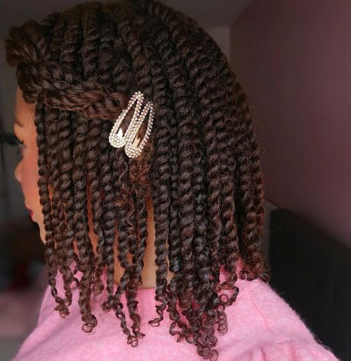 Two Strand Twists on Natural Hair