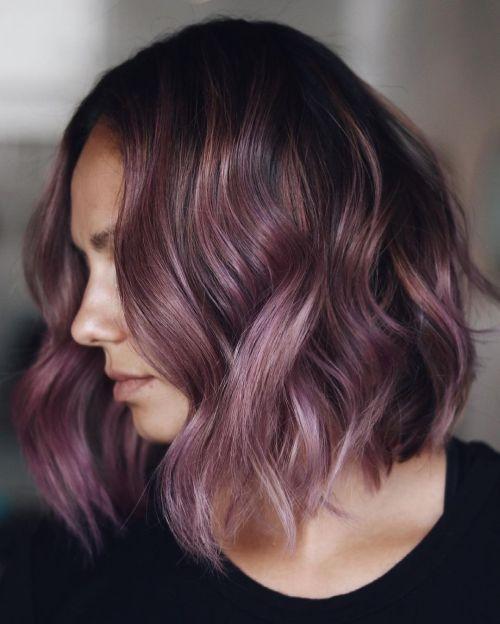 Grape Purple Hair Color