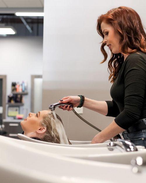 Gentle Washing of Hair