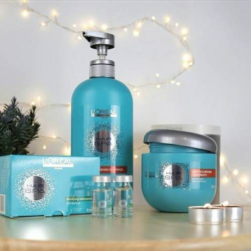 Products for Hair Spa Treatment