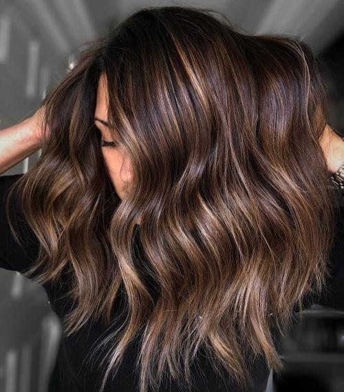 Dimensional Brown Hair Color