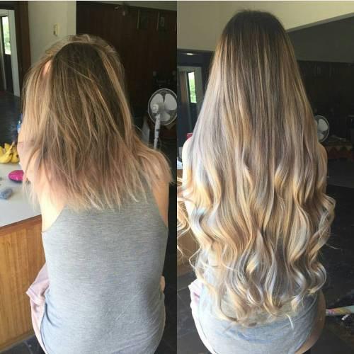 Short to Long Hair Transformation
