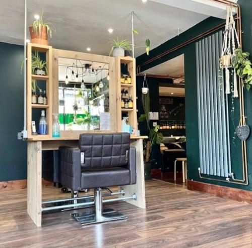 Eco Hair Salon Design