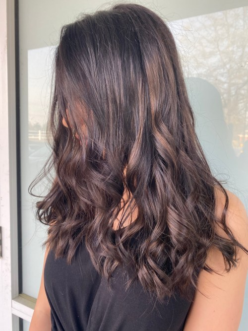 Hairstyle for Brunette Whose Hair Won't Lift