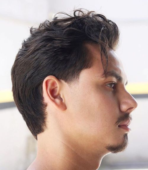 Classy Men's Haircut with Tapered Sides