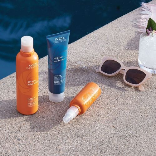 Aveda Hair Products with SPF