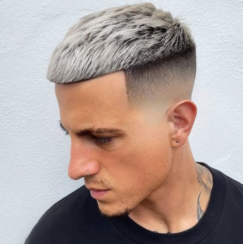 Men's Haircut With Skin Fade