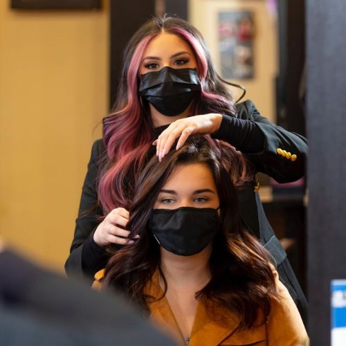 Hair Color Appointment with a Stylist