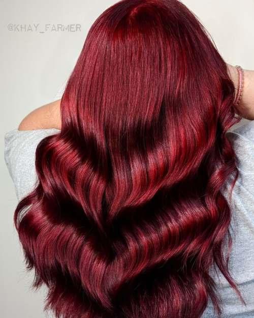 Scarlet Hair Color Inspiration