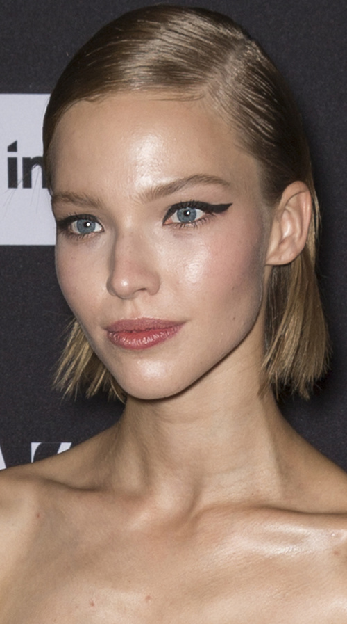 Sasha Luss short haircut for girls