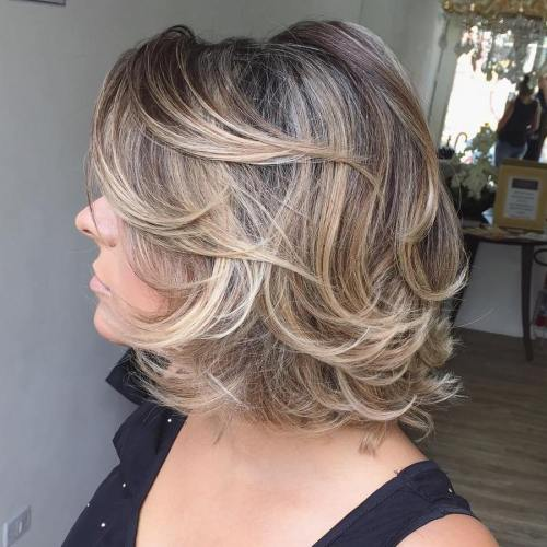 60 Unbeatable Haircuts For Women Over 40 To Take On Board In 2019