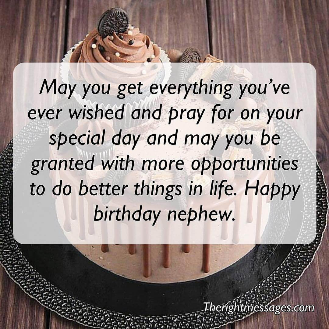 Short Long Birthday Wishes Messages For Nephew The Right Messages