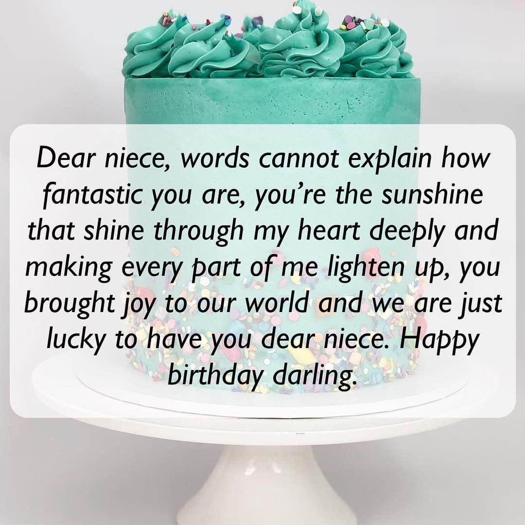 Short And Long Happy Birthday Messages Wishes Quotes For Niece The Right Messages