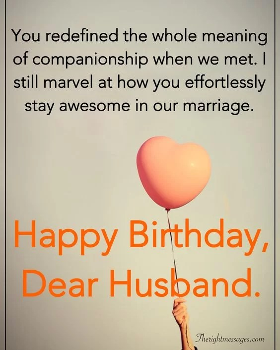28 Birthday Wishes For Your Husband Romantic Funny Poems The Right Messages