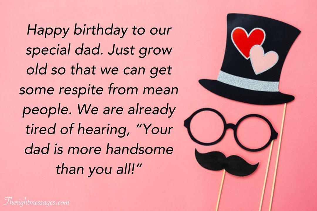 Happy Birthday Wishes For Dad Heart Warming Funny Prayers Etandoz