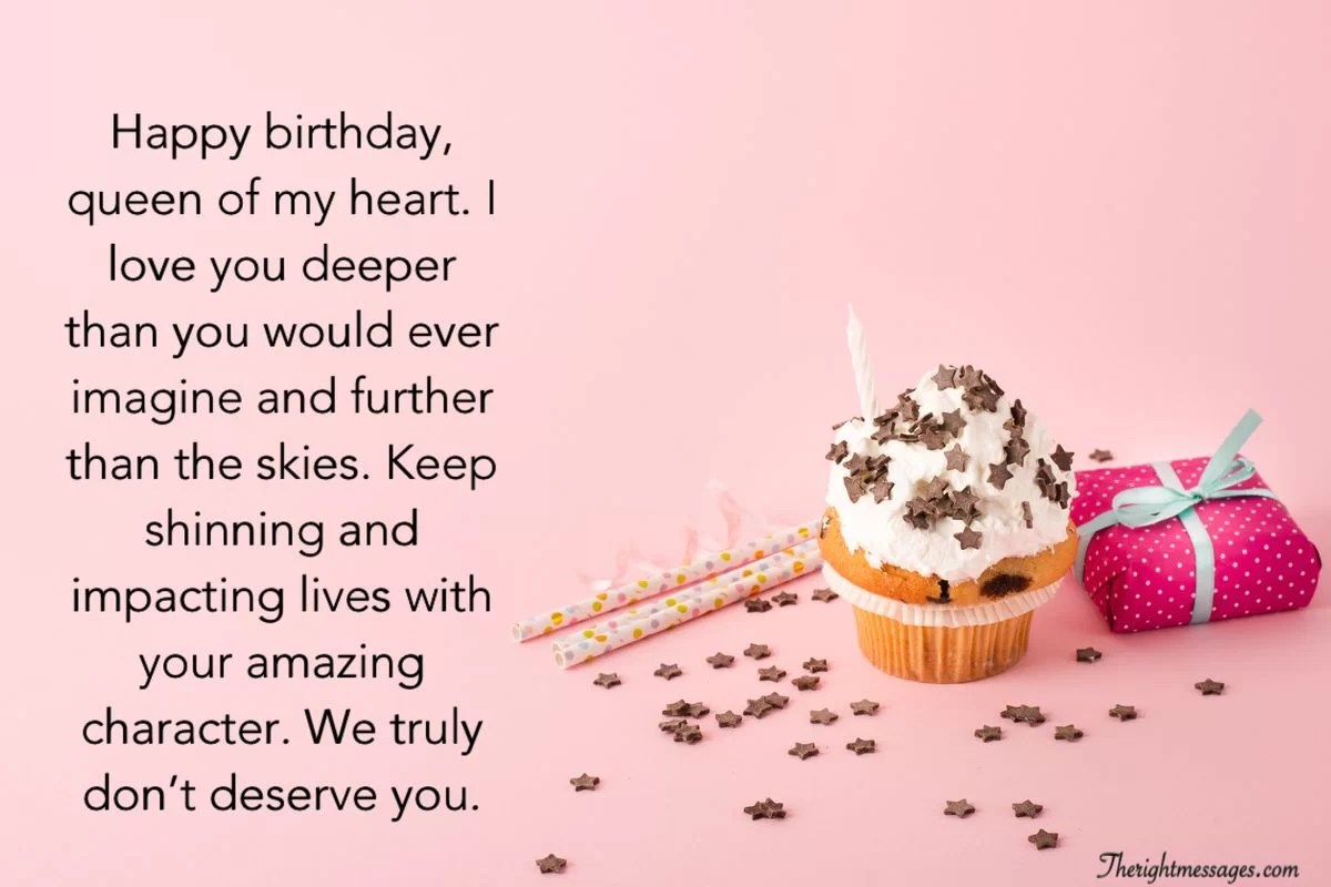 Happy Birthday Wishes For Her Genuine Messages The Right Messages