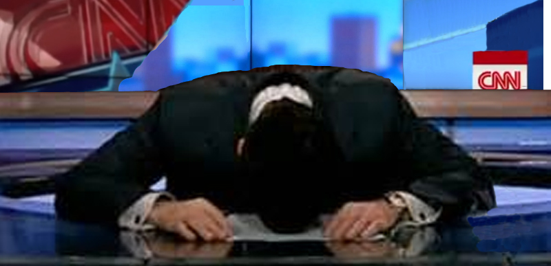 CNN's Day of Total and Disastrous Buffoonery Continued Into the Night