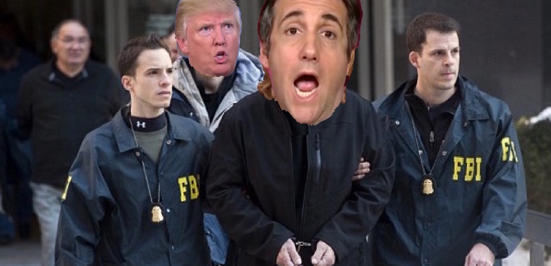 Image result for PHOTOS OF COHEN AND TRUMP