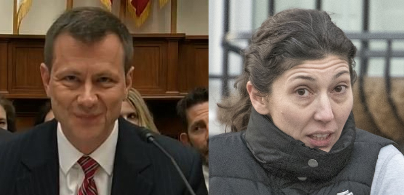 What Lisa Page And Peter Strzok Didnt Know Should Be Rocking The News But It Isnt